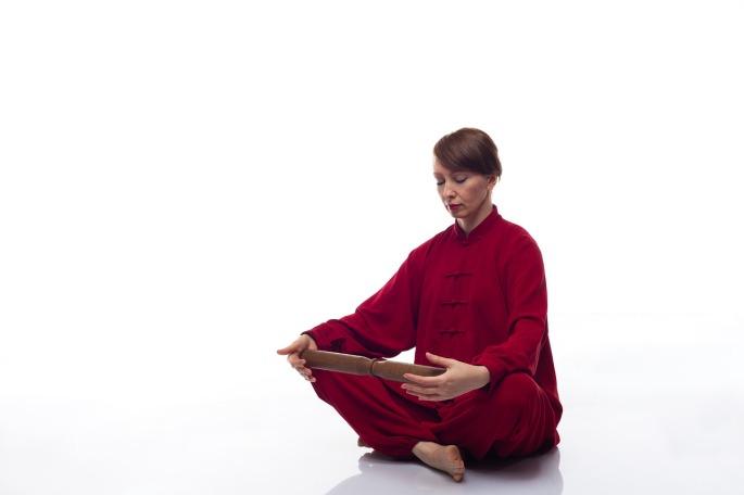 Yoga Sitting Sit Relax Meditation Qigong